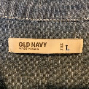 Old Navy Tops - Old Navy Chambray button up
